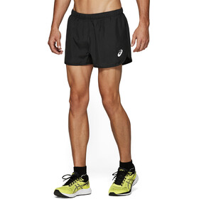 asics Silver Split Shorts Herre performance black